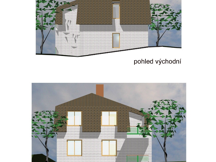 Rodinný dům o dvou bytových jednotkách Frymburk